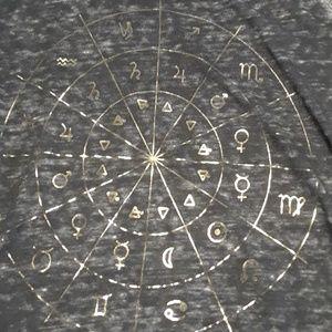 LUCKY BRAND Zodiac sign  shirt